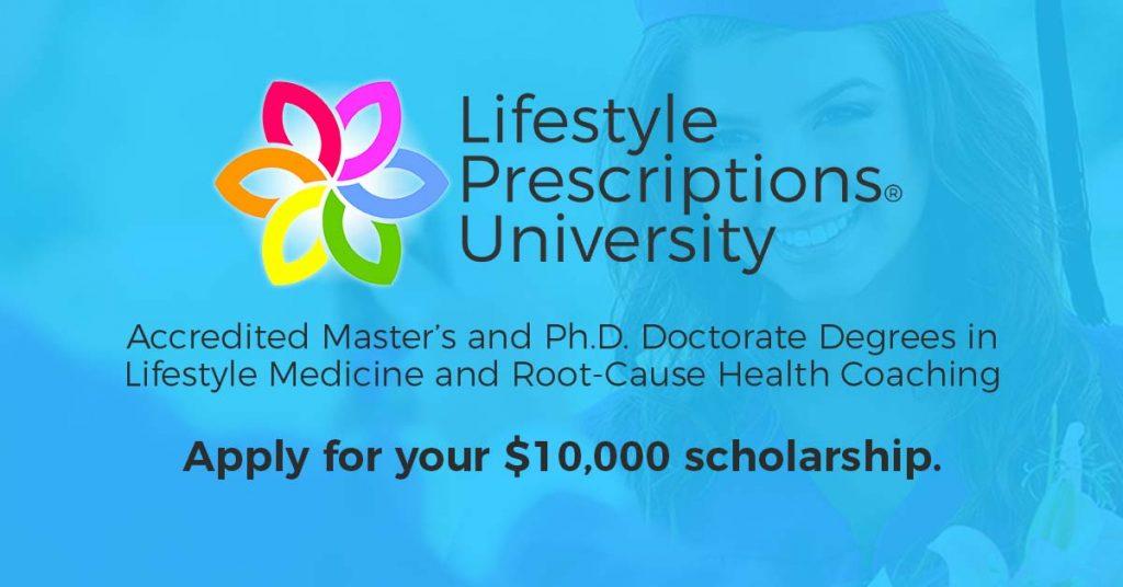 Lifestyle Prescriptions University Medicine Master's Ph.D. Doctorate Degree Programs